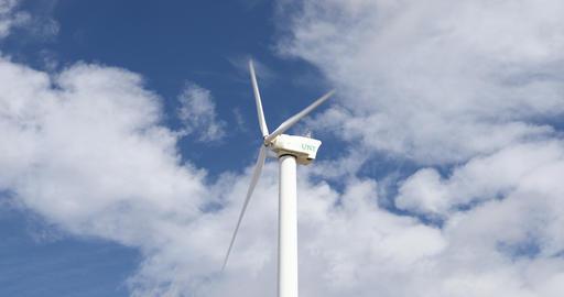 Wind Turbine at Apogee Stadium in Denton Texas Image