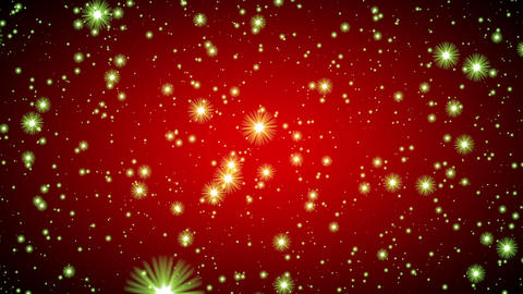 Red Vignette Green Glow Stars Infinite Flight Motion Background Loop roll right Animation