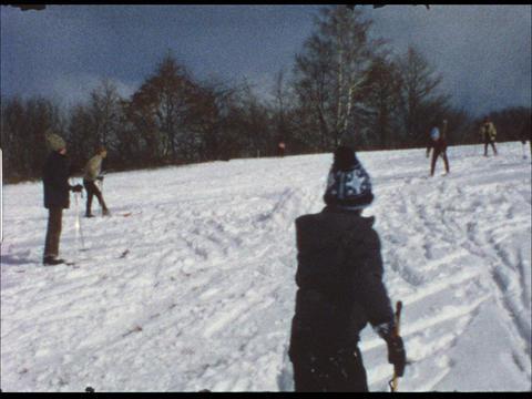 Ski lesson 10 Footage