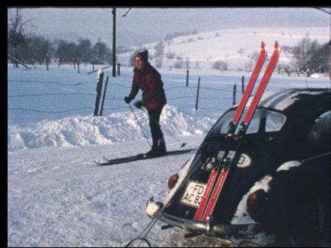 Ski vacation 11 Footage
