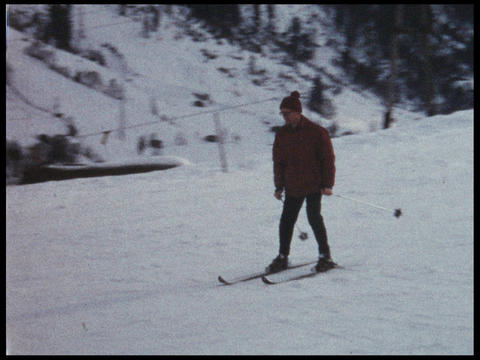 Skiing 05 Footage