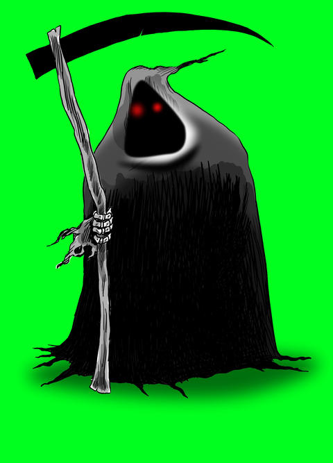 The Grim Reaper Animation