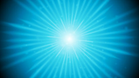 Blue shiny glowing beams video animation Animation