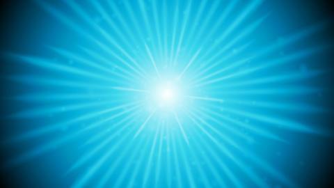 Blue shiny glowing beams video animation Animation