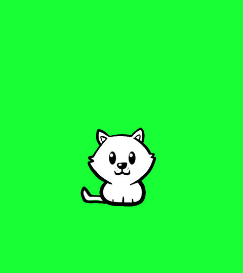Cute Kitten Animation