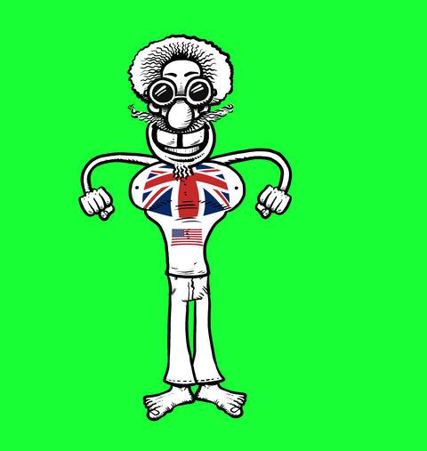 America and UK Dude Animation
