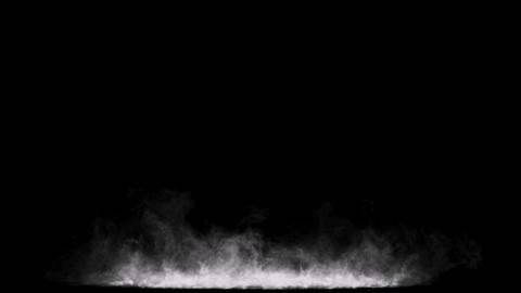 Design Elements Low Frontal Smoke 6 Animation