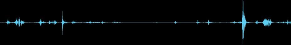 Eerie Radio Interference Loop stock footage