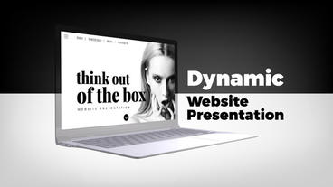 Dynamic Website Presentation After Effects Template
