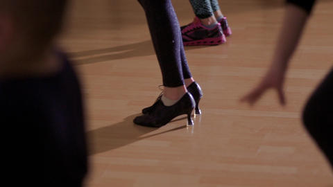 The legs of dancing people Footage
