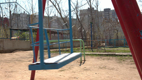 swing in play ground Footage