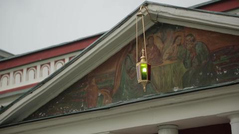 Church lamp Footage