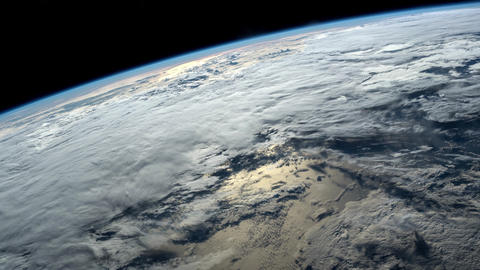 2 videos in1. Planet Earth seen from the ISS. Elements of this video furnished Footage