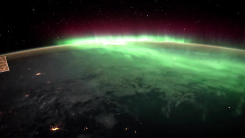 3 videos in1. Planet Earth seen from the ISS. Earth and Aurora Borealis from ISS Footage