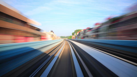 Train Ride Time Lapse Taiwan 影片素材