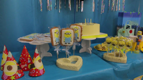 The Sweets Children Birthday Filmmaterial