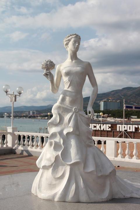White bride Fotografía