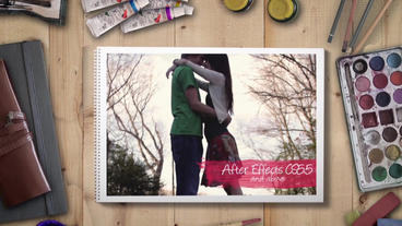 Artist Wedding - ウェディング After Effects Template