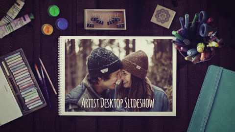 Artist Wedding Slideshow After Effects Template