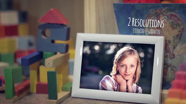 Children Photo Gallery After Effects Template