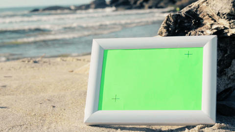 Green Screen Beach Frames