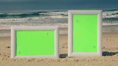 Green Screen Sunny Beach Frames Live Action