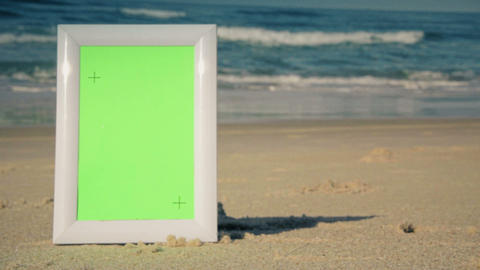 Green Screen Beach Frames 1
