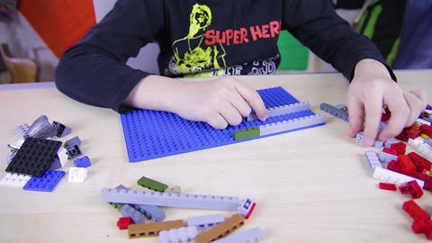 Play with Lego Bricks 02 Live Action
