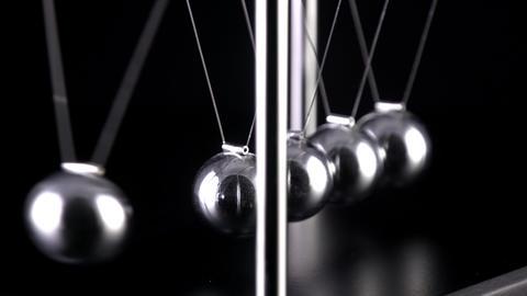 Newton's Cradle Slow Motion Image
