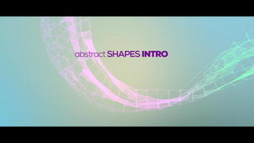Abstract Shape Intro After Effectsテンプレート
