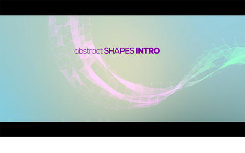 Abstract Shape Intro After Effects Template