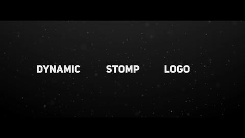 Dynamic Stomp Logo After Effects Template