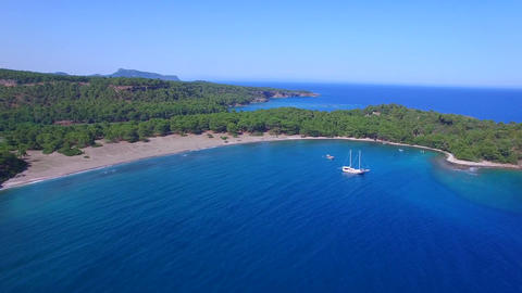 Phaselis Bay Aerial Shots