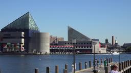 USA Maryland Baltimore building complex of Inner Harbor National Aquarium Image