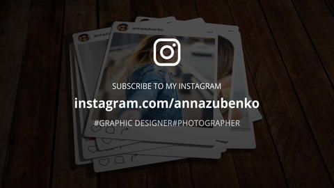 Short Instagram Promo After Effects Template