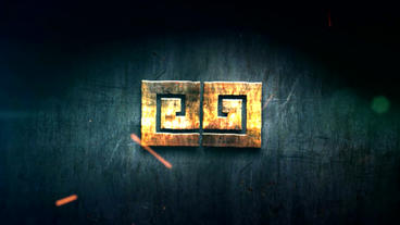 HARD STEEL LOGO After Effects Template