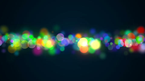 Bokeh with multi colors, lights bokeh background, 3d rendering backdrop Footage