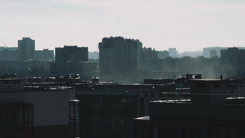 residential area at day Stock Video Footage