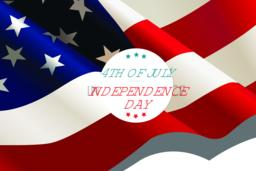 4th of July Background ベクター
