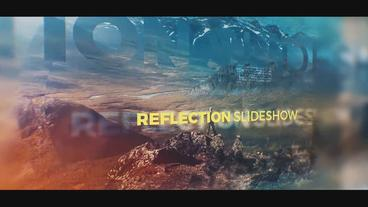 Reflection Slideshow After Effects Template