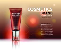 Cosmetic Ad Vector