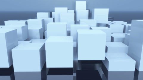 4k,abstract 3d cubes animation background Live Action