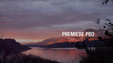 Emotional Ink Slideshow Premiere Pro Template