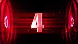 Countdown (1) CG動画素材