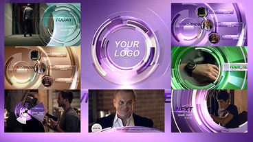 Broadcast TV Plantilla de After Effects