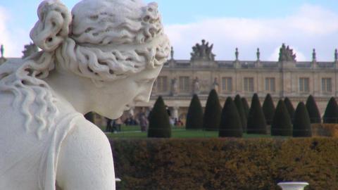 Versailles (Paris France): in the garden Footage