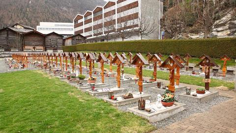 Christian Graveyard Footage