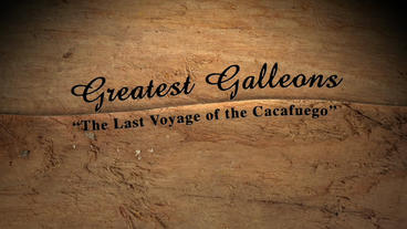 Galleon After Effects Project