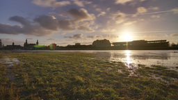 Dresden Elbe Sunset UHD Pro Res HQ Live Action