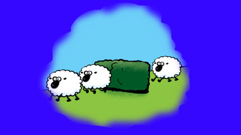 Counting Sheep Animation